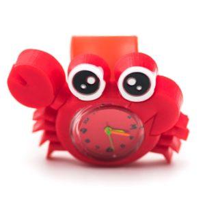 ceas crab rosu