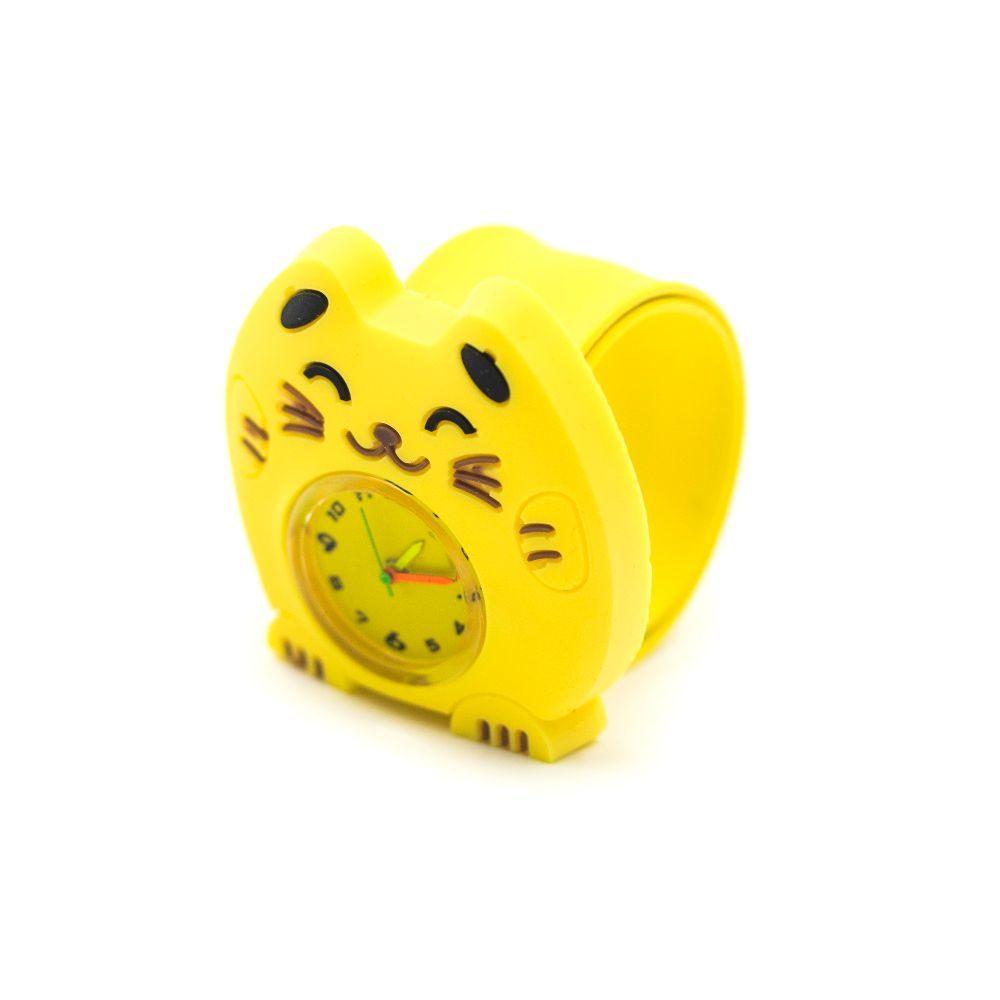 ceas de copii pisica