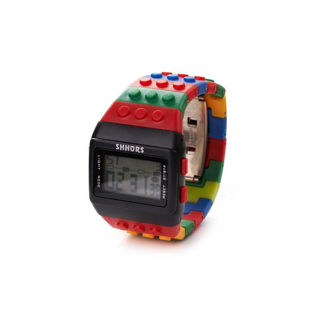 ceas multicolor lego copii