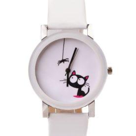 ceas alb kitty
