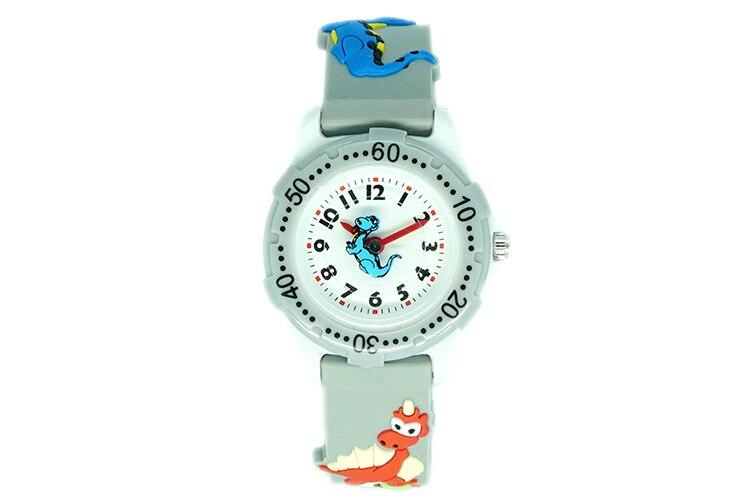ceas de copii gri