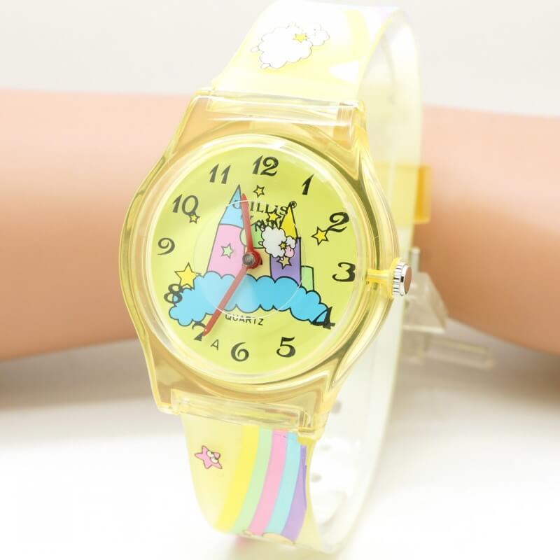 ceas galben fete
