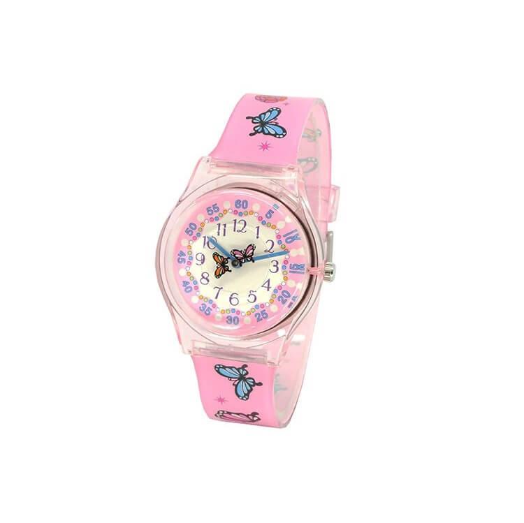 ceas roz fete