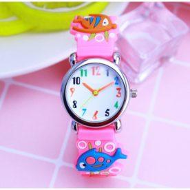 ceas roz pentru fete